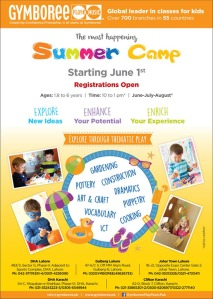 Summer Camp 2016 flier