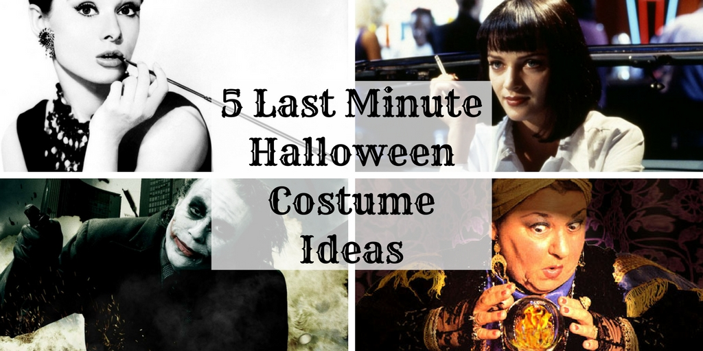 Eleventh-Hour Halloween Costume Ideas Straight From Your Own