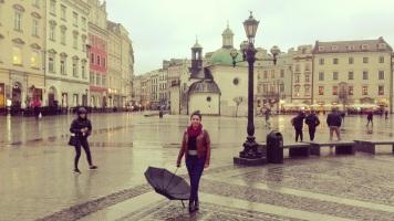 Solo travel in Krakow