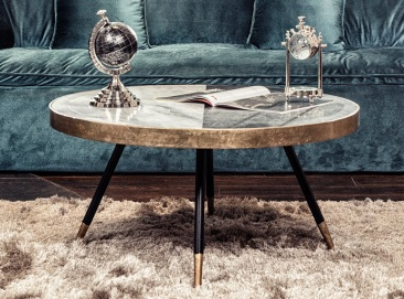 home decor trends: marble top table